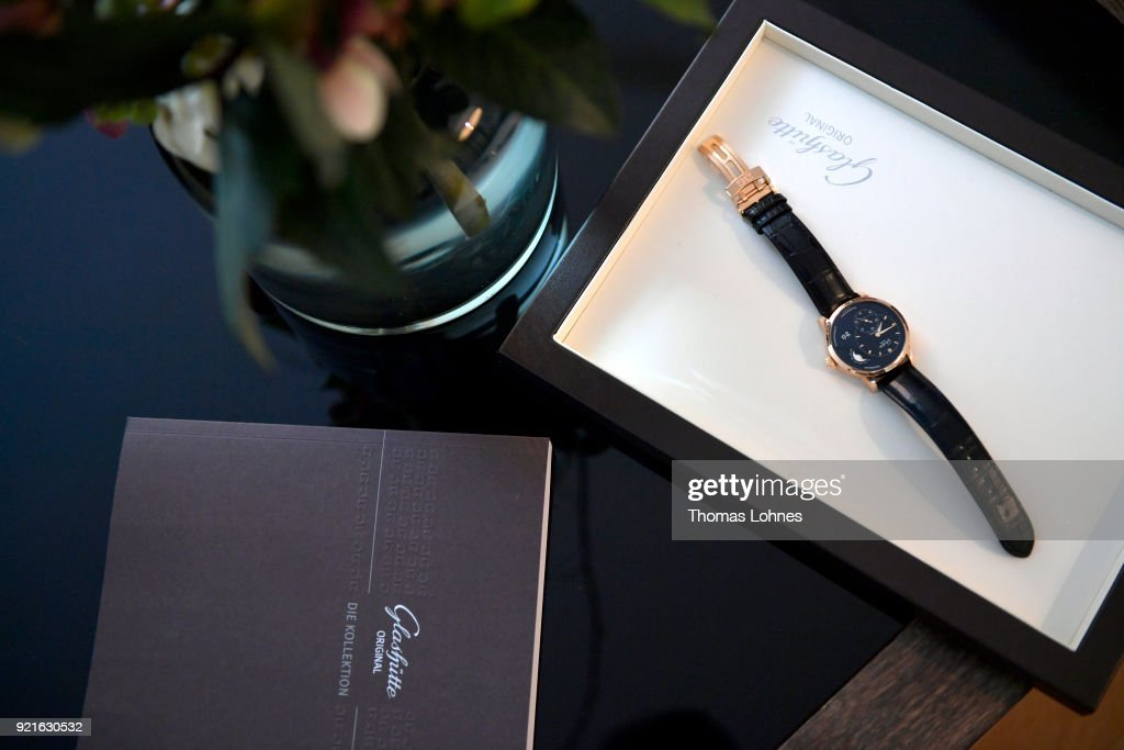 A general view at the Glashuette Original Lounge at The 68th Berlinale International Film Festival at Grand Hyatt Hotel on February 20, 2018 in Berlin, Germany.