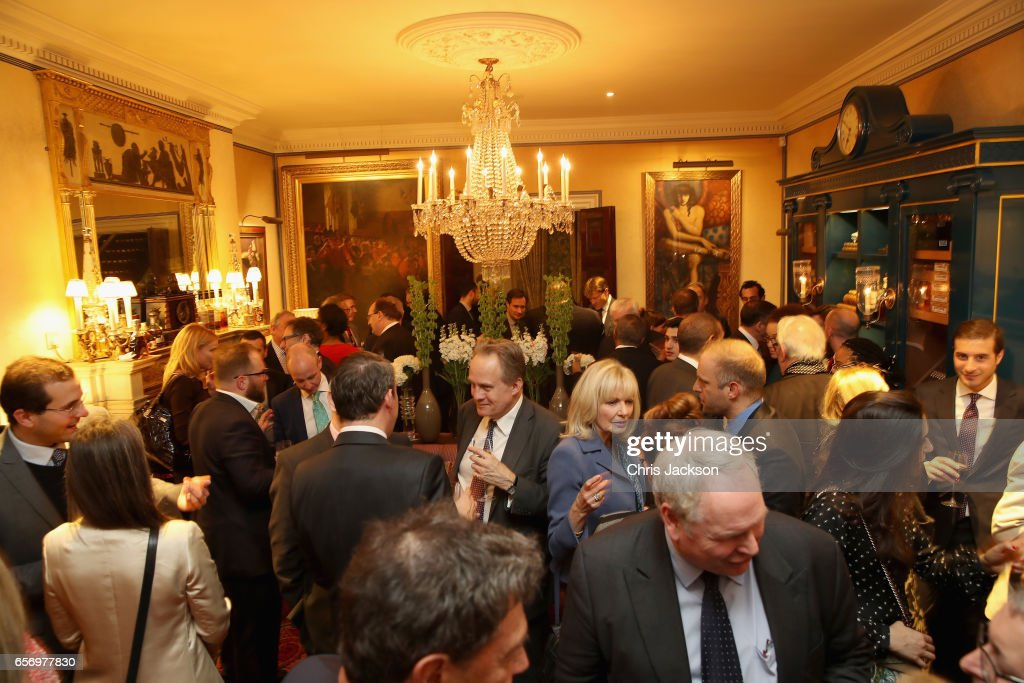 A general view at the Glass Half Full party at Mark's Club on March 23, 2017 in London, United Kingdom.