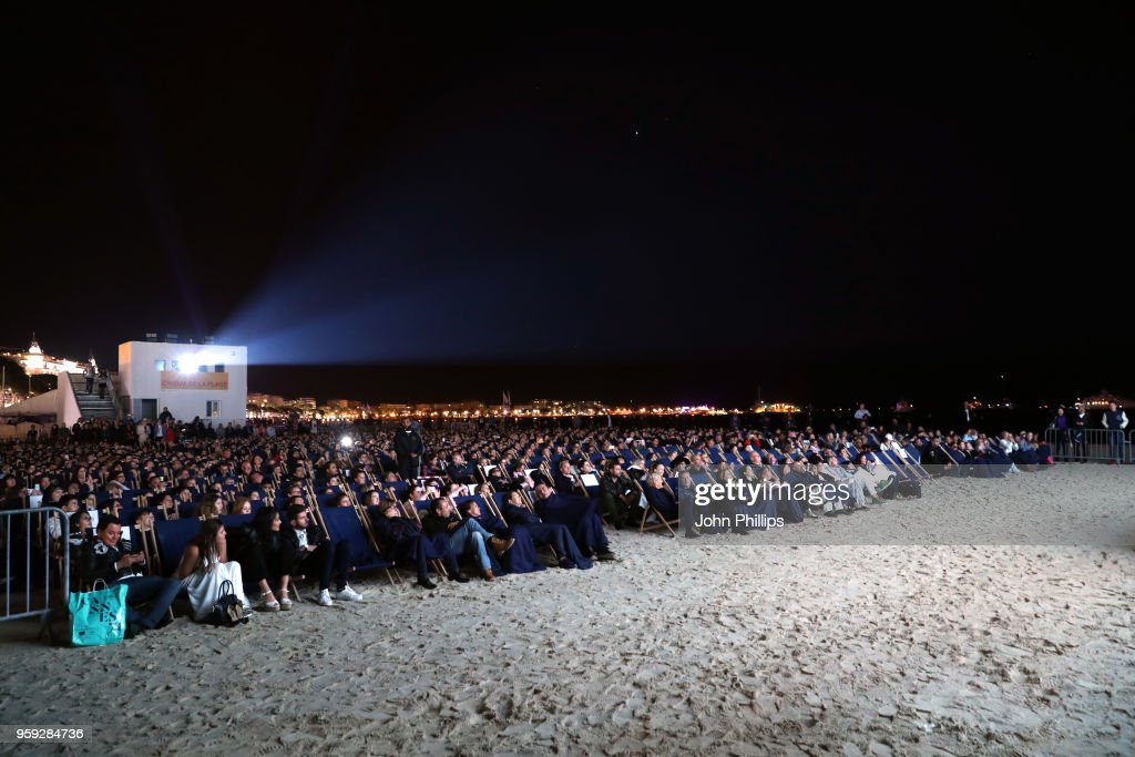 A general view at the 'Grease' 40th Anniversary Screening during the 71st annual Cannes Film Festival at on May 16, 2018 in Cannes, France.