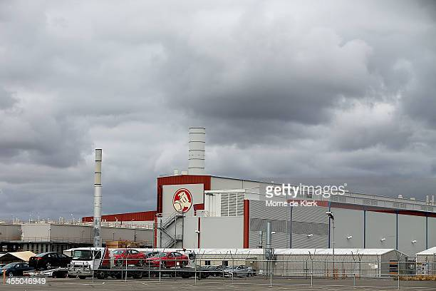 A general view at the Holden manufacturing facility in Elizabeth on December on December 11 2013 in Adelaide Australia Holden have announced plans to...