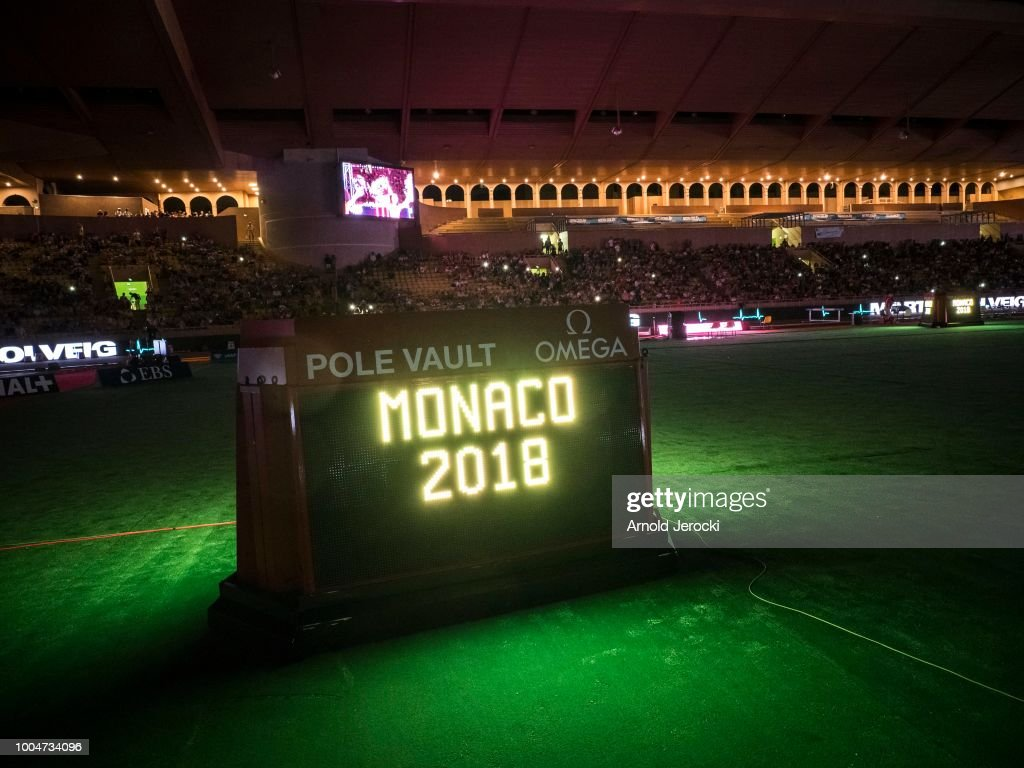 A general view at the IAAF Diamond League athletics 'Herculis' meeting at The Stade Louis II on July 20, 2018 in Monaco, Monaco.