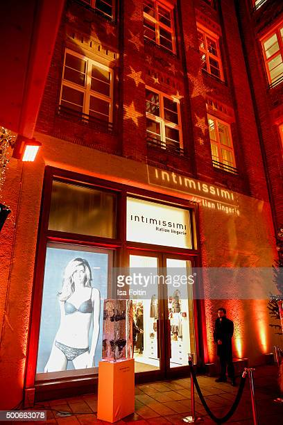 A general view at the INTIMISSIMI Christmas Reception on December 09 2015 in Munich Germany