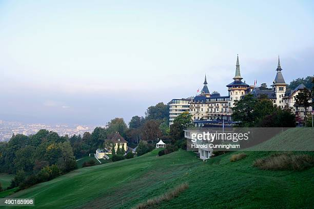 A general view at the IWC Schaffhausen Media Breakfast held as part of the 11th Zurich Film Festival at the Dolder Grand Hotel on September 26 2015...