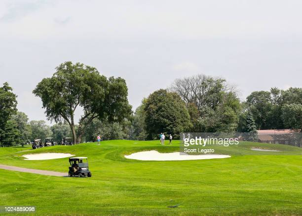 General view at the Jalen Rose Leadership Academy Golf Tournament presented by Tom Gores & Platinum Equity held at Detroit Golf Club at Detroit Golf...
