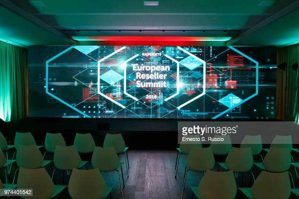 A general view at the Kaspersky Lab European Reseller Summit 2018 on June 12 2018 in Milano Marittima Cervia Italy Kaspersky Lab held its annual...