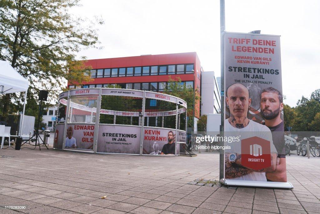"Insight TV Launches New Show ""Streetkings in Jail"" In Munich : Nachrichtenfoto"