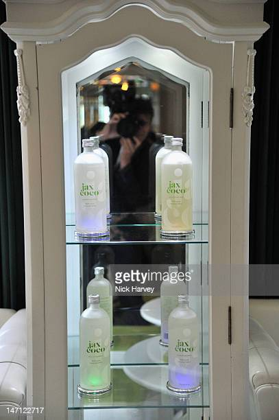 General view at the launch of Jax Coco coconut water at Harvey Nichols on June 25 2012 in London England