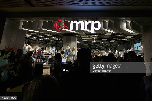 A general view at the launch of the first Australian MRP store at Melbourne Central on October 21 2015 in Melbourne Australia
