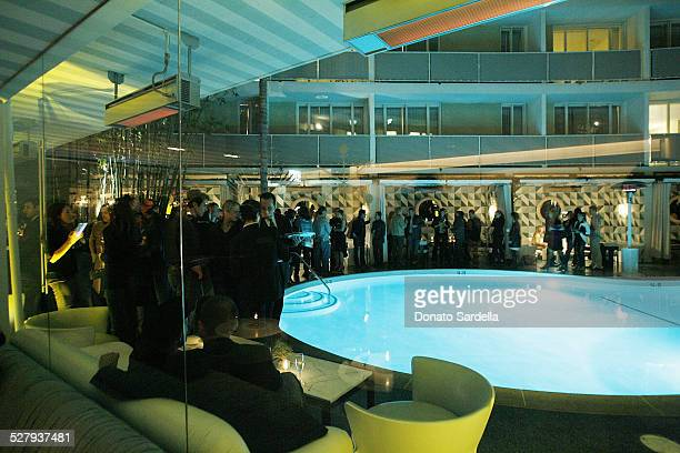 A general view at the Launch Party For HUE By Kelly Wearstler At The Avalon's Oliverio Restaurant on November 18 2009 in Beverly Hills California