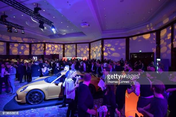 A general view at the Medienboard BerlinBrandenburg Reception at The 68th Berlinale International Film Festival on February 17 2018 in Berlin Germany