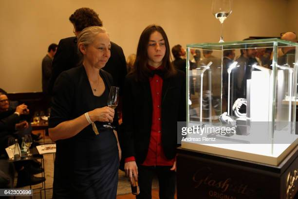 A general view at the Medienboard BerlinBrandenburg Reception sponsored by Glashuette Original on February 9 2017 in Berlin Germany