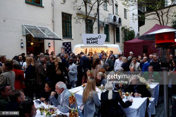 General view at the Montblanc spring party on May 3 2017 in Munich Germany