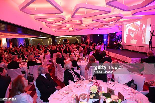 A general view at the Monti Memorial Charity Gala at Hotel Vier Jahreszeiten on October 18 2014 in Munich Germany