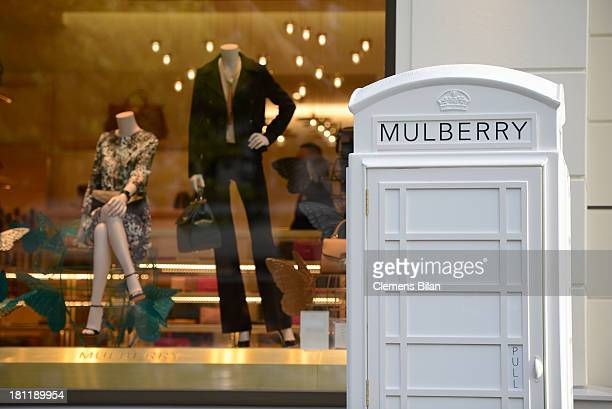 A general view at the Mulberry cocktail party in Berlin's flagship store at Mulberry Store on September 19 2013 in Berlin Germany