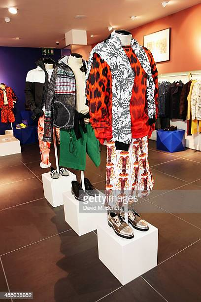 A general view at the official opening of British Designers' Collective Menswear curated by GQ at Bicester Village on September 18 2014 in Bicester...