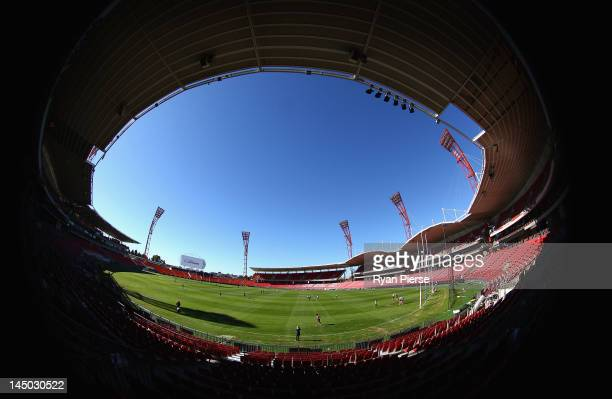 General view at the official opening of SKODA Stadium at Sydney Olympic Park Sports Centre on May 23, 2012 in Sydney, Australia.