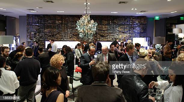 A general view at the Opal Stone Luxury Handbags And Fine Jewelry Launch at Gray Gallery on December 8 2011 in Beverly Hills California