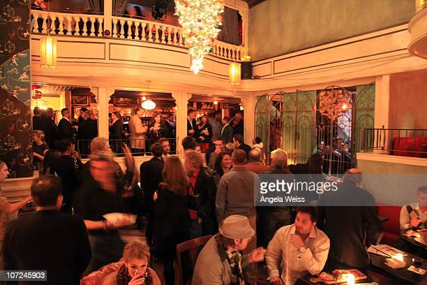 A general view at the opening night of the 'West Side Story' after party at Ivan Kane's Café Was on December 1 2010 in Hollywood California