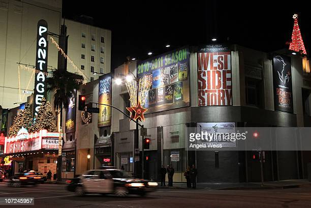 A general view at the opening night of 'West Side Story' at the Pantages Theatre on December 1 2010 in Hollywood California