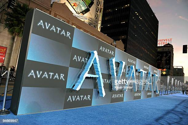 General view at the premiere of 20th Century Fox's Avatar at the Grauman's Chinese Theatre on December 16 2009 in Hollywood California