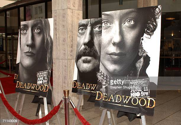 General view at the premiere of HBO's Deadwood Season 3 held at The Cinerama Dome on June 6 2006 in Hollywood California