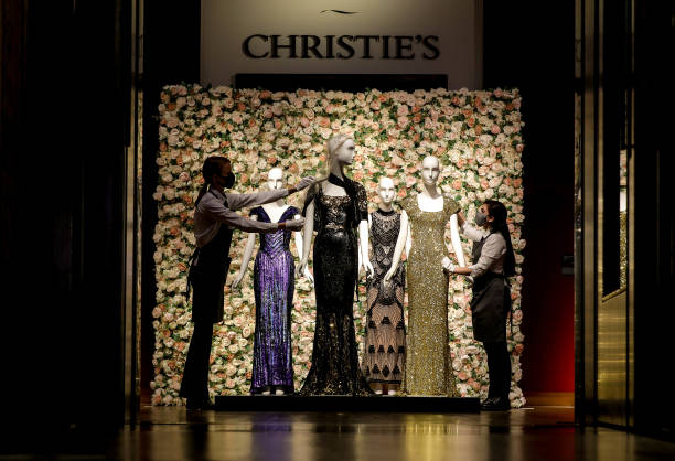 GBR: The L'Wren Scott Collection at Christie's - Press Preview