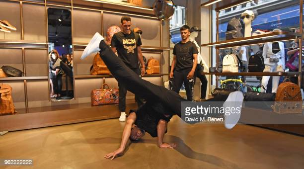 A general view at the PUMA x MCM Collaboration London Launch Party in partnership with British GQ Style on May 24 2018 in London England