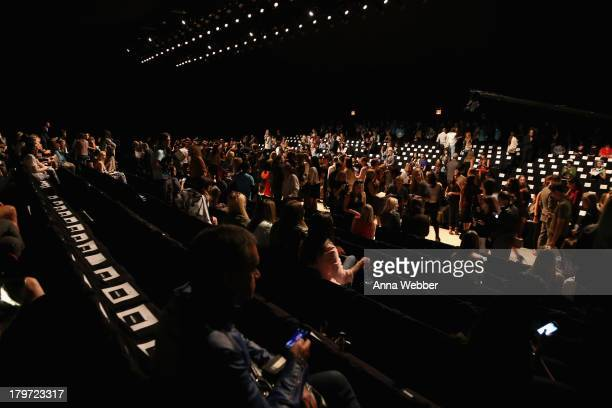 A general view at the Rebecca Minkoff Spring 2014 Runway Show in Collaboration with American Express UNSTAGED Music by Janelle Monae at The Theatre...