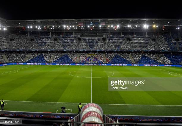 General view at the Red Bull Arena on December 09, 2019 in Salzburg, Austria.