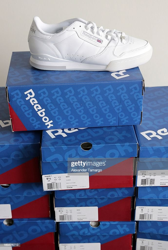 Rick Ross' Suite View Classic At Gifting The Reebok General White dxoeBWrC