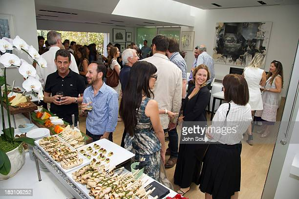 A general view at the Rema Hort Mann Foundation conversation with Susan and Michael Hort on September 28 2013 in Los Angeles California