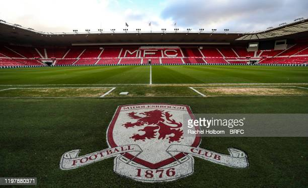 General View at the Riverside Stadium home of Middlesbrough during the Sky Bet Championship match between Middlesbrough and Blackburn Rovers at...