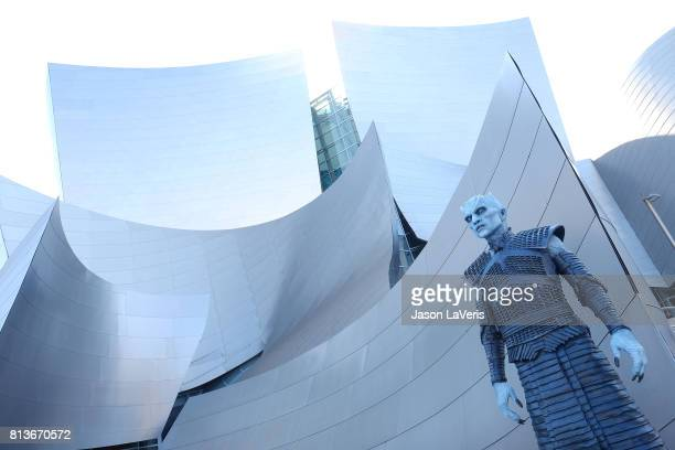 A general view at the season 7 premiere of 'Game Of Thrones' at Walt Disney Concert Hall on July 12 2017 in Los Angeles California