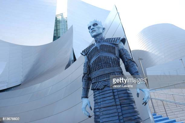 A general view at the season 7 premiere of Game Of Thrones at Walt Disney Concert Hall on July 12 2017 in Los Angeles California
