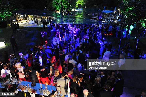 A general view at the Serpentine Gallery Summer Party at The Serpentine Gallery on July 9 2009 in London England