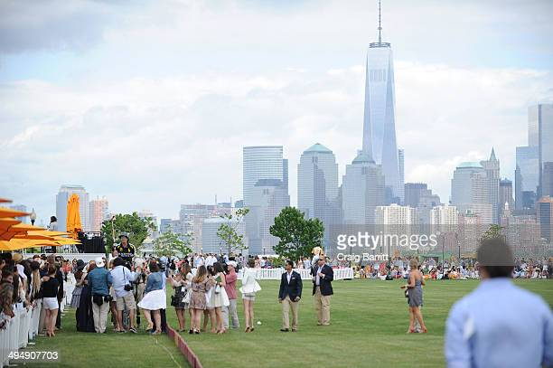 A general view at the seventh annual Veuve Clicquot Polo Classic in Liberty State Park on May 31 2014 in Jersey City City