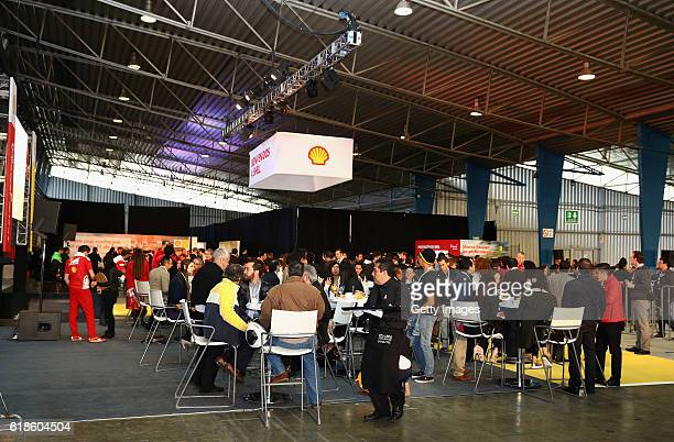 A general view at the Shell Eco Marathon event during the Formula One Grand Prix of Mexico at Autodromo Hermanos Rodriguez on October 27 2016 in...