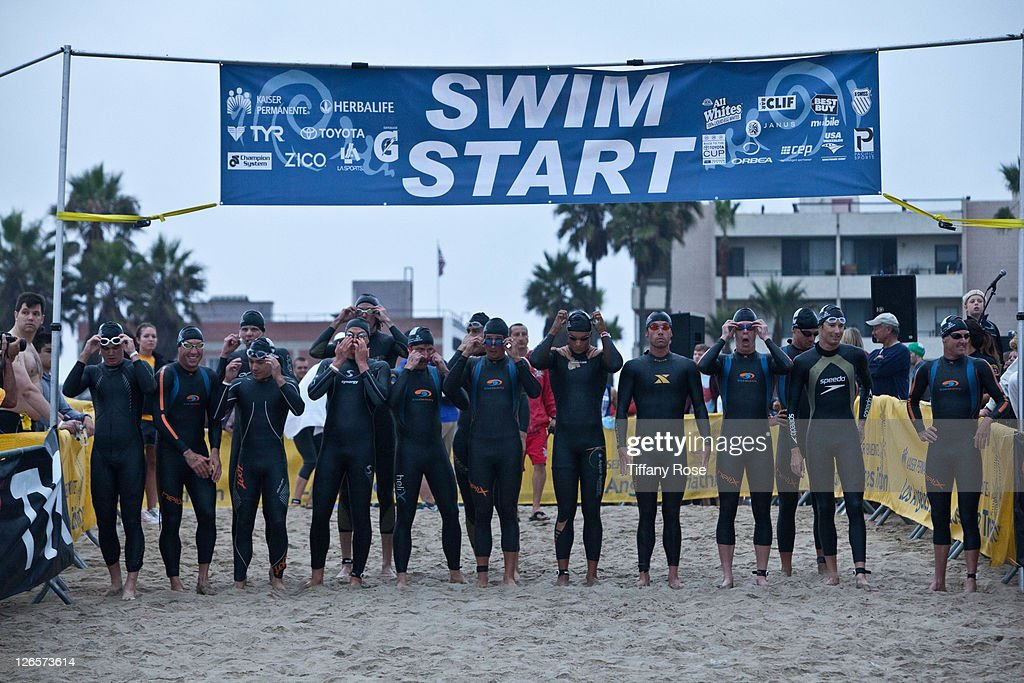 A general view at the LA Triathlon presented by Herbalife on September 25, 2011 in Los Angeles, California.