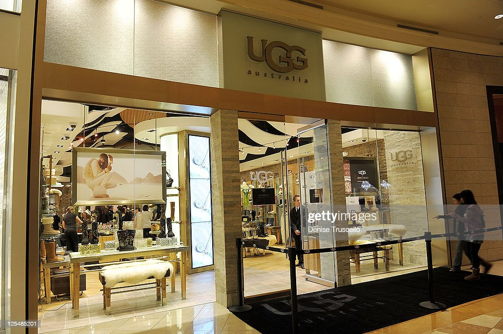 UGG and Vogue Host The Opening Of The New UGG Concept Store At The Forum  Shops 116d4ac305cf