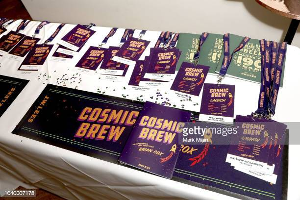 A general view at the Union Club as Professor Brian Cox discovers the world of brewing as he launches 'Cosmic Brew' at The Union Club on September 25...