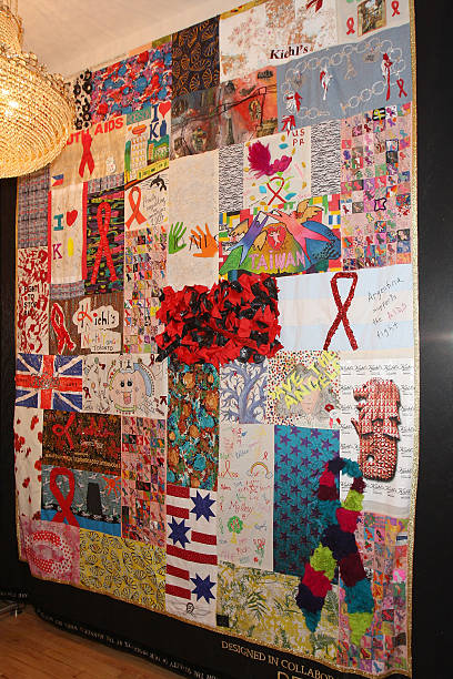 Kiehl's Unveils World AIDS Day Quilt Photos and Images | Getty Images : new york city quilt - Adamdwight.com