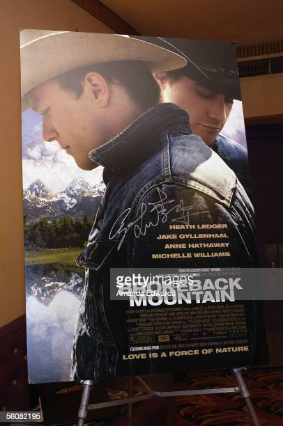 A general view at the Variety Screening Series of Brokeback Mountain at the Fine Arts Theatre on November 3 2005 in Beverly Hills California
