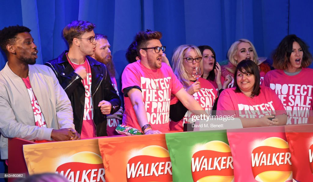 A general view at the Walkers Choose or Lose Campaign Launch Event on September 6, 2017 in London, England.