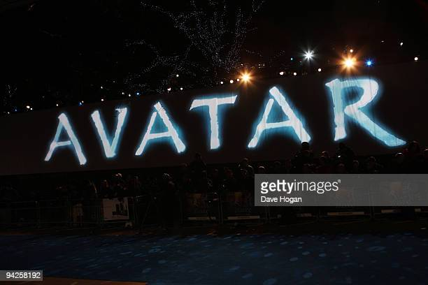 A general view at the world premiere of Avatar held at The Odeon Leicester Square on December 10 2009 in London England