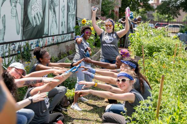 IL: Timberland And The SCA Team Up To Help Revitalize Chicago's Bronzeville Community Garden In Chicago