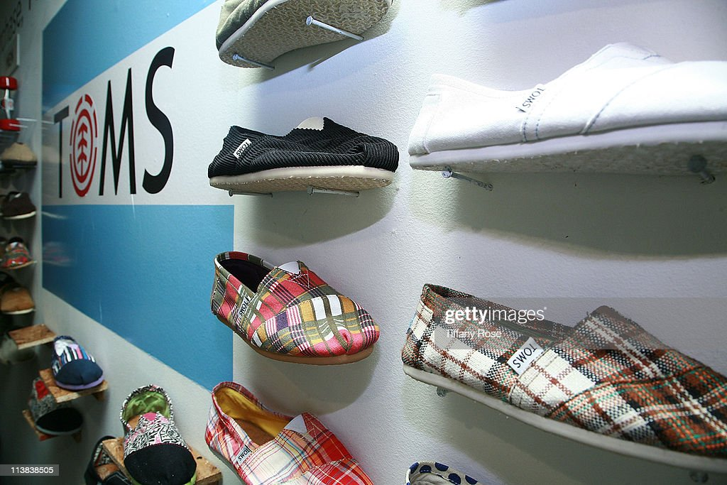 Toms & Element Collaboration Launch Party : News Photo