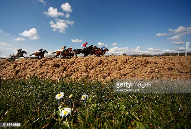 A general view at Wolverhampton racecourse on March 31 2016 in Wolverhampton England