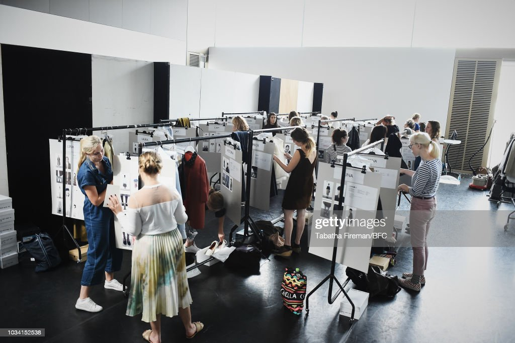 Margaret Howell - Backstage - LFW September 2018 : ニュース写真