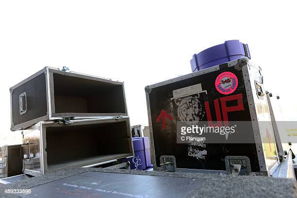 General view backstage at 2015 KAABOO Del Mar at the Del Mar Fairgrounds on September 20, 2015 in Del Mar, California.