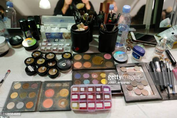 General view backstage for Amelie Wang during New York Fashion Week The Shows at Industria Studios on February 09 2019 in New York City